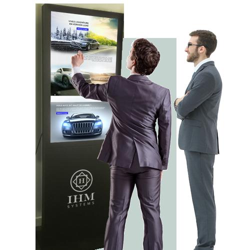 ihm-systems-ecran-borne-tactile-concession-automobile-affichage-dynamique