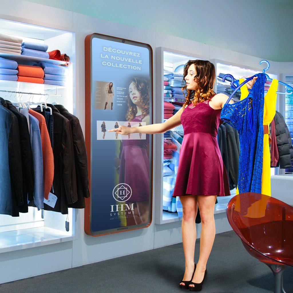 ecran-mirroir-tactile-dynamique-boutique-point-vente-ihm-systems